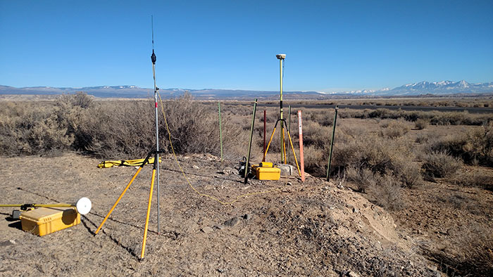 Drone Mapping with Trimble GPS RTK Base and Rover - DroneMapper